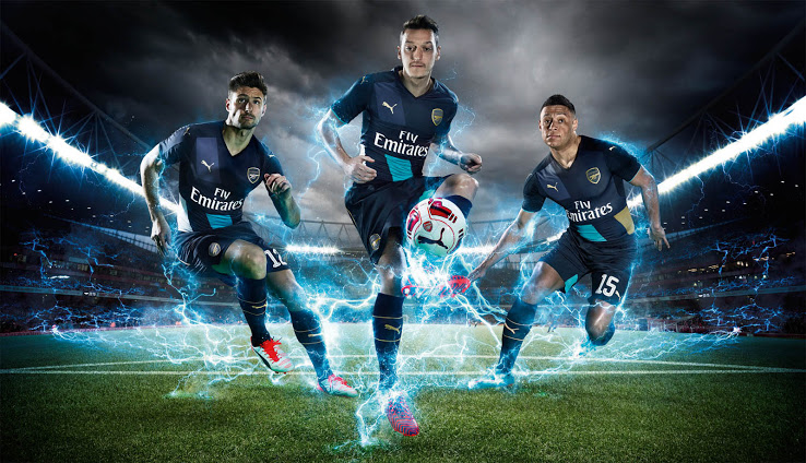 Arsenal Release Alternate 2015-16 Puma Jersey - GARBER SPORTS 5f5aebbf2